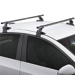 SportRack SR1008 Complete Roof Rack System, Black