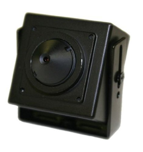 Channel Visions 6404 WDR Indoor Covert Mini Color Camera Power Supply Not Included-12V-500ma (Covert Camera Mini Pinhole Color)