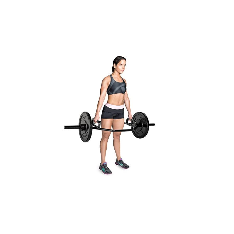 CAP Barbell Weight Bar 2 Inch Zinc Plated Mega Hex Bar Olympic