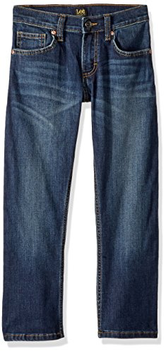 Boys Lee Jeans - LEE Big Boy Proof Fit Straight Leg Jean, Stuntman, 14 Regular