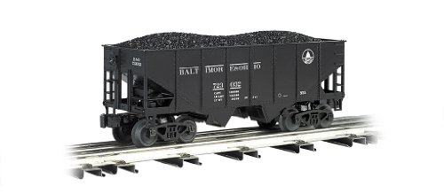 Williams by Bachmann 55-Ton 2-Bay USRA Outside Braced Hopper with Removable Coal Load B&O - O Scale ()