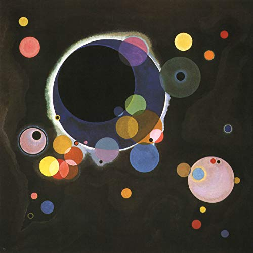 Artebonito - Wassily Kandinsky, Several Circles, L.E. Giclee Numbered (Several Circles Kandinsky)