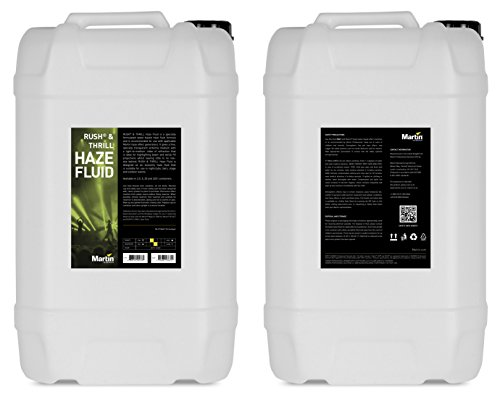 Martin RUSH Haze Fluid for Haze Effects Generators, 25L