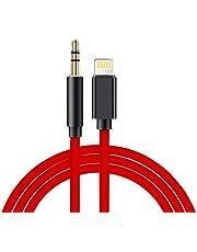 Goingaux Auto AUX Kabel für iPhone, Aux Kabel auf 3,5mm Premium-Audio für iPad, iPod, iPhone8/17+/X,Home/Auto-Stereoanlagen,Kopfhörer