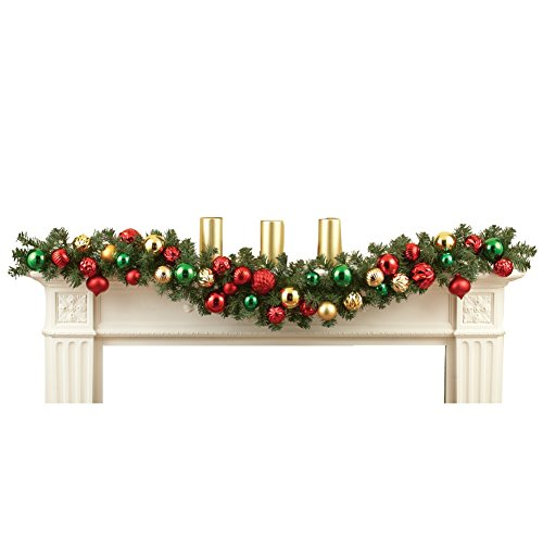 Elegant Holiday Ornament Garland