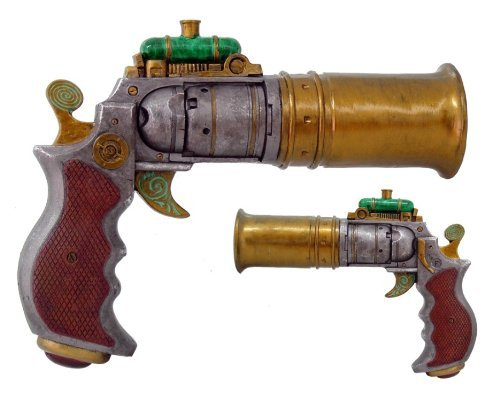 steampunk pistol resin - 2