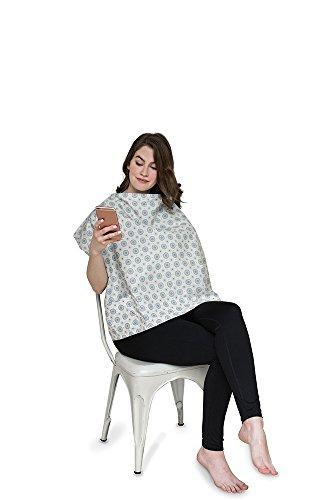 Belly Armor Nursing Cover With Anti-Radiation Shielding Fabric (Aster) | EMF (Armor Apparel)