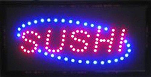 LETRERO LUMINOSO LED - SUSHI. IDEAL PARA ESCAPARATE ...