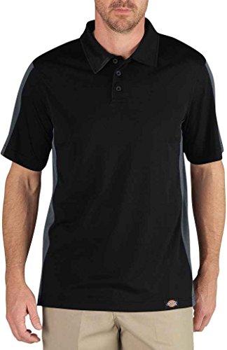 Dickies - - LS424 Herrenindustrie Color Block-Polo-Hemd, 4X-Large, Black