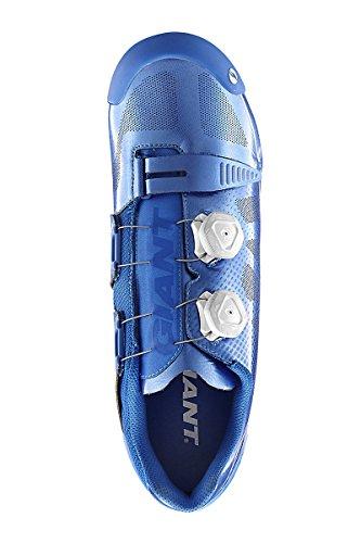 Giant Scarpe da MTB Mountain Bike Uomo Suola Carbonio Blue Charge 43