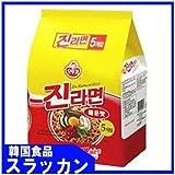 ジンラーメン(辛口)120g×5個 [並行輸入品]
