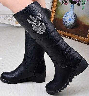 Laruise Women's Laruise Boots Snow Snow Women's Black Black Boots EqErF5