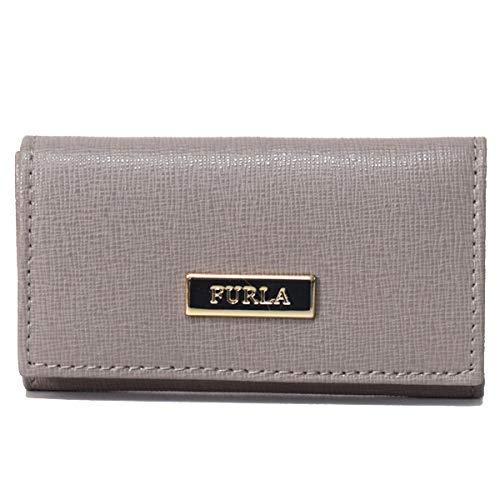 フルラ カードケース FURLA コーティング レザー キーケース グレージュ 1006330   B07QX46CG7
