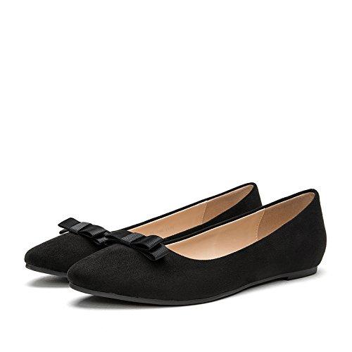 alti Nero Sandali a single DHG donna punta donna da primaverili scarpe 36 piatte O68nq6H