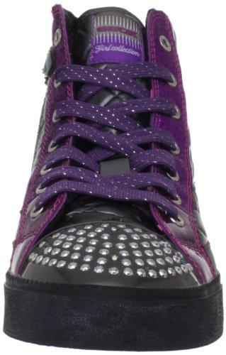 Geox - Zapatillas de material sintético para niña gris Grey (Grau) 30