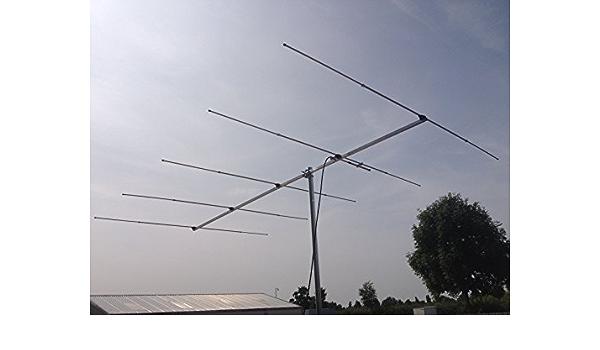 YG5-6 Antena Yagi de 6 Metros de 5 Elementos: Amazon.es ...