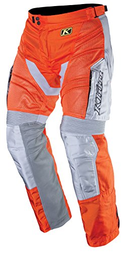 Klim Mojave Mens Dirt Bike Motorcycle Pants - Orange/Size 36