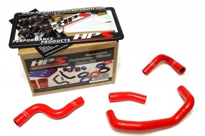 HPS 57-1508-RED MX5 Silicone Heater Coolant Hose Kit