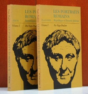 Les Portraits Romains. Volume I: Republique et Dynastie Julienne. Two volumes, Text & - Julienne Plate