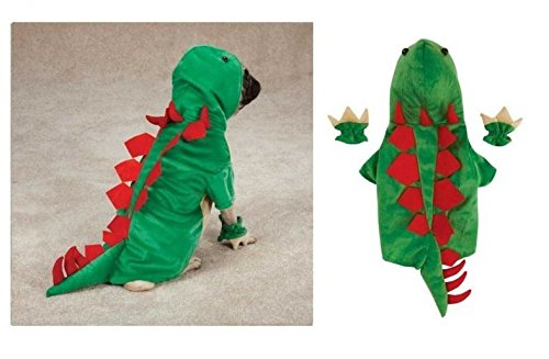Zack & Zoey Dogosaurus Costume for Dogs - Dinosaur Halloween Dog Costumes Exclusive Closeout(XLarge Dinosaur) -