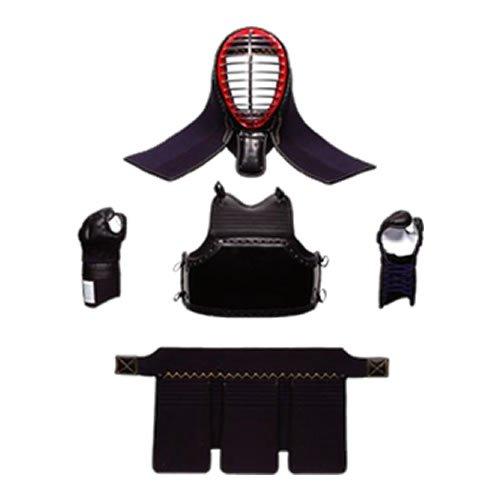 [入門2号] 剣道防具セット(6mmミシン刺し) 小学校低学年向け:小サイズ  頭タテサイズ63cm