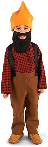 Leadtex - Bearded Baby Lumberjack Toddler Costume - (Lumberjack Costume Toddler)
