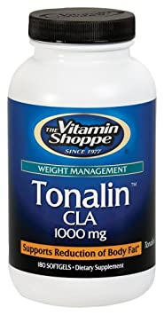 The Vitamin Shoppe Tonalin CLA 1,000 MG