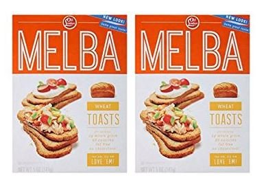 Old London Melba Whole Wheat Toasts - 5 oz (Pack of 2) - Old London Whole Grain