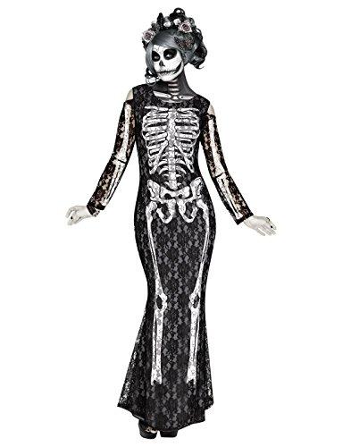 Scary Mermaid Costumes - Lacy Bones Adult Costume -