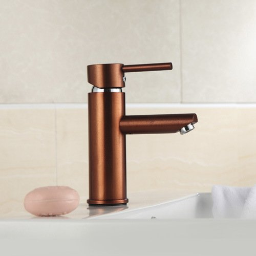 Furesnts Modern home kitchen and Bathroom Sink Taps Classical space aluminum hot and cold Bathroom Sink Taps,(Standard G 1/2 universal hose ports)