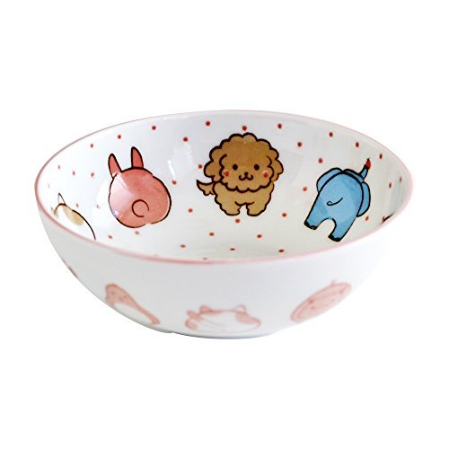 Tableware east Japanese For a small animal love girl by Table ware East
