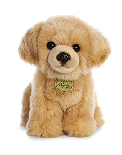 Aurora 26339 World Miyoni Plush Golden Retriever Pup, Tan