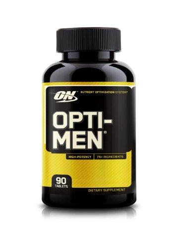 Optimum Nutrition Opti Men Supplement Count