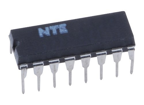 NTE Electronics NTE870 Integrated Circuit Dual Operational Transconductance Amplifier, 16-Lead DIP Package, 18V/36V Supply Voltage ()