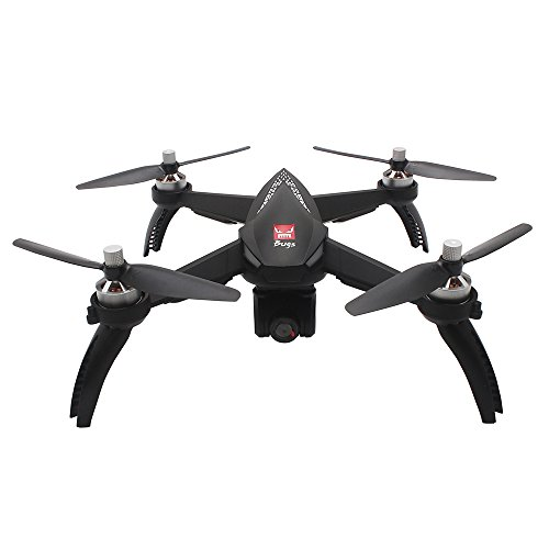 MJX B5W Bugs 5W RC Racing FPV Drone - Amazingbuy 2.4GHz 6-Axis Gyro 1080P HD 5G Wifi Camera - Long Range Drone With GPS, Altitude Hold, Headless mode,One Key Return,Follow Me,Bugs GO (Black)