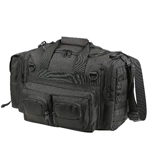 Black Concealed Weapon Pistol Handgun Carry Range Duty Duffle Gear Bag