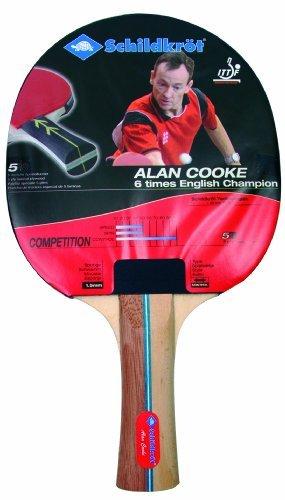 Schildkrot Competition - Reversed 1.5mm Sponge Table Tennis Bat - Red/Black by Schildkrot by Schildkrot