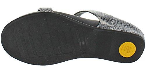 Fitflop Dames Banda Micro Crystal Slide Sandaal Nerts