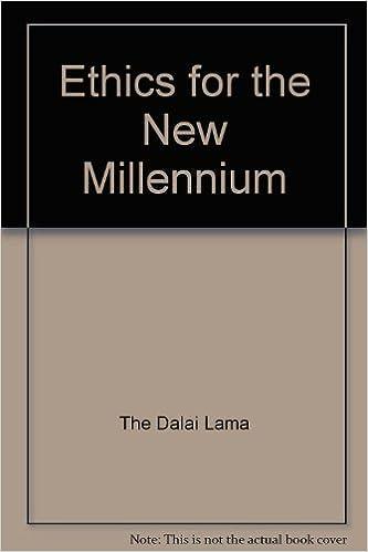 Ethics For the New Millennium.  1999. dj