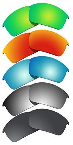 5 Pairs BVANQ Polarized Lenses Replacement for Oakley Bottle Rocket - Rocket Glasses Bottle