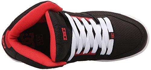 Black Poppy Jeunes DC Salut Femmes Rebound Red Chaussures Haut Top TX des qzCqv1U