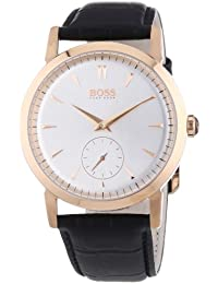 Hugo Boss Gold Tone Leather 1512776 Overview