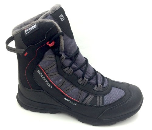 Salomon Herren Winterschuh Cender WP D.CLOUD/BLK/RED
