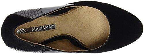 Mujer para Tacón 61295 Negro Combi de MTNG Originals Zapatos Negro wBqWYf