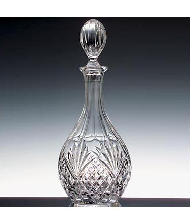 Dublin Crystal Wine Decanter by Shannon