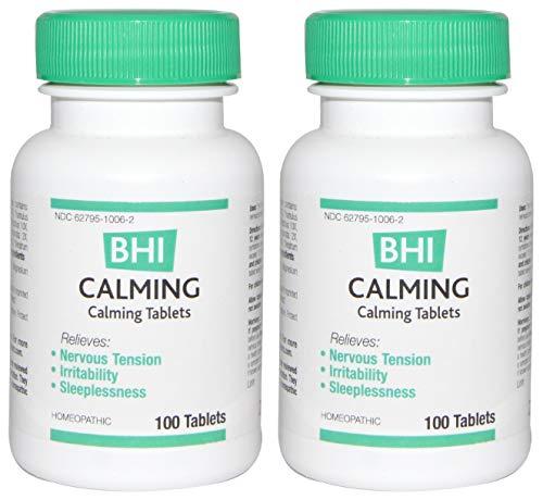 MediNatura Naturals BHI Calming Tablets (Pack of 2) 100 Tablets -