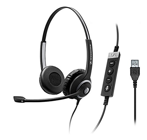 Sennheiser Circle SC 260 MS II Headset, Black (506483) by Sennheiser