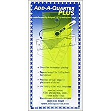 "CM Designs Ruler 6"" Add-A-Quarter Plus"