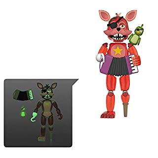 Funko Action Figures: Five Nights at Freddy's Pizza Simulator - Rockstar Foxy