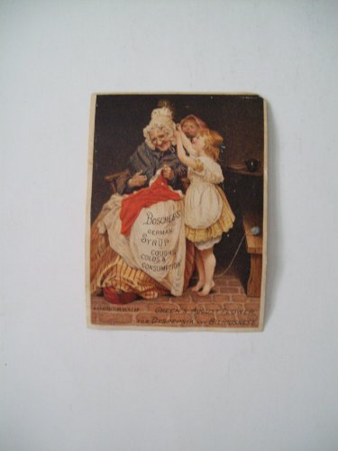 Antique (Victorian) Trade Card: Patent Medicine